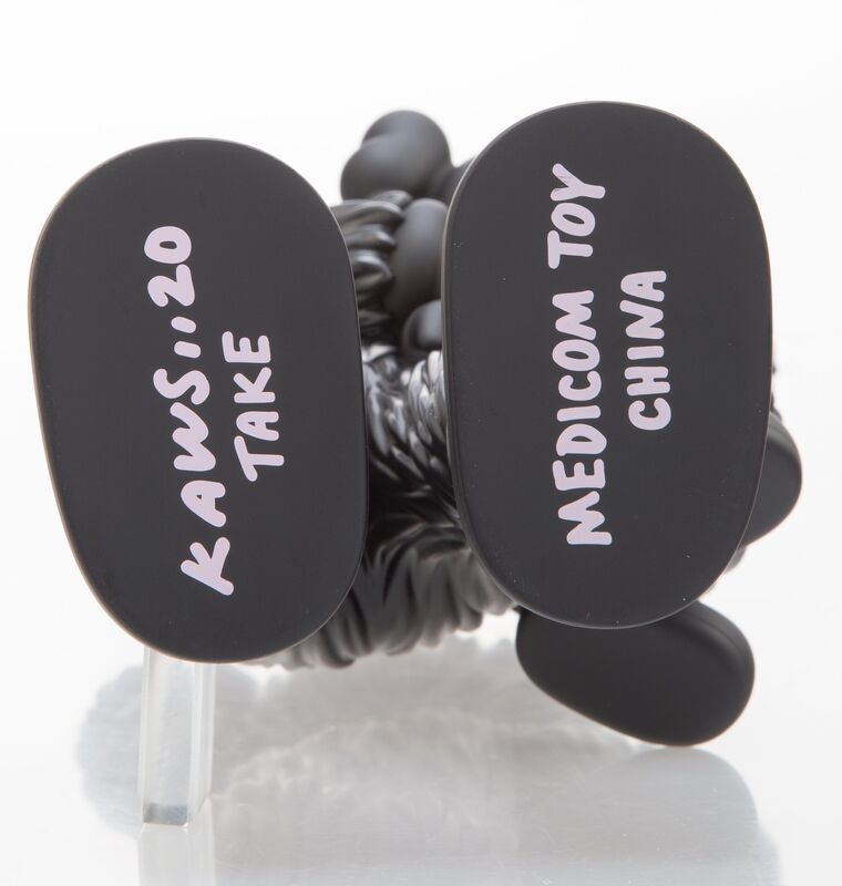 KAWS, 'Take (Black)', 2020, Sculpture, Painted cast vinyl, Heritage Auctions