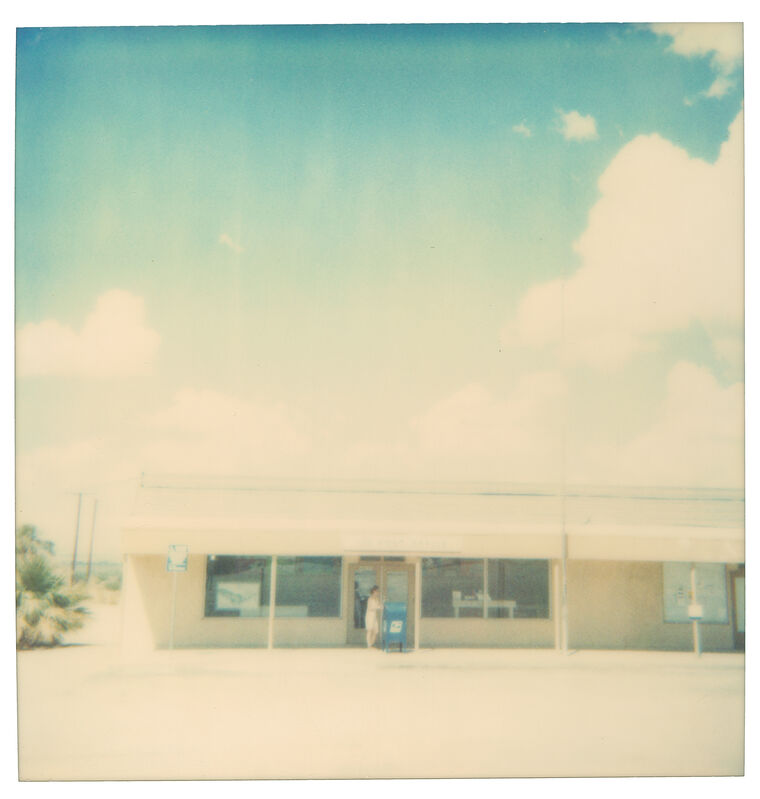 Stefanie Schneider, 'Cloudy Skies (29 Palms, CA)', 1999, Photography, Digital C-Print, based on a Polaroid, not mounted., Instantdreams