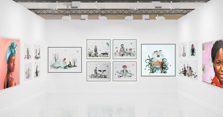 Wolf & Nomad at SCOPE Miami Beach 2019, installation view