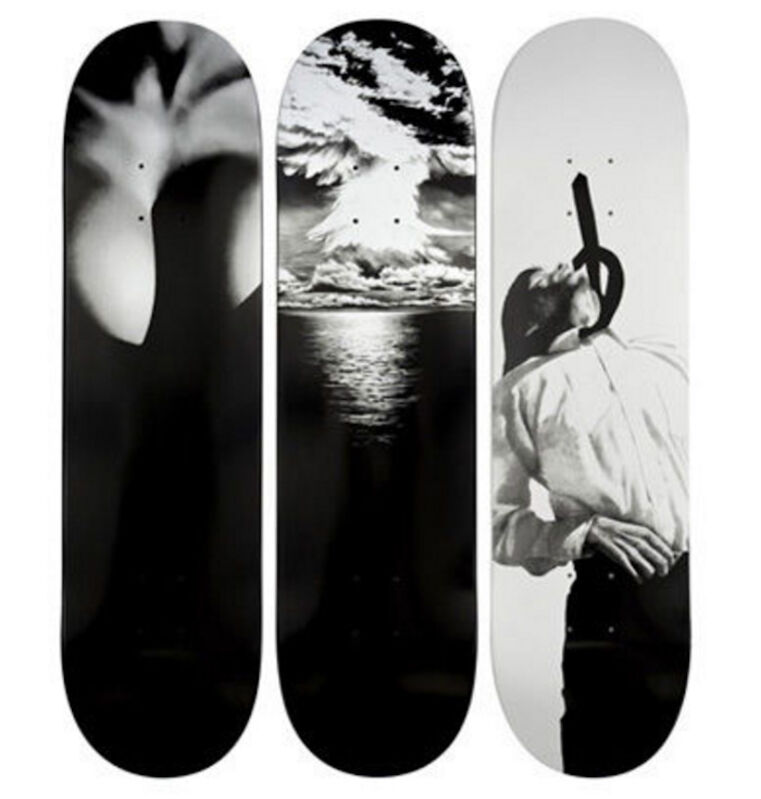Robert Longo, 'Set of Three Supreme Skateboards', 2011, Other, Skateboard deck, Remes Advisory