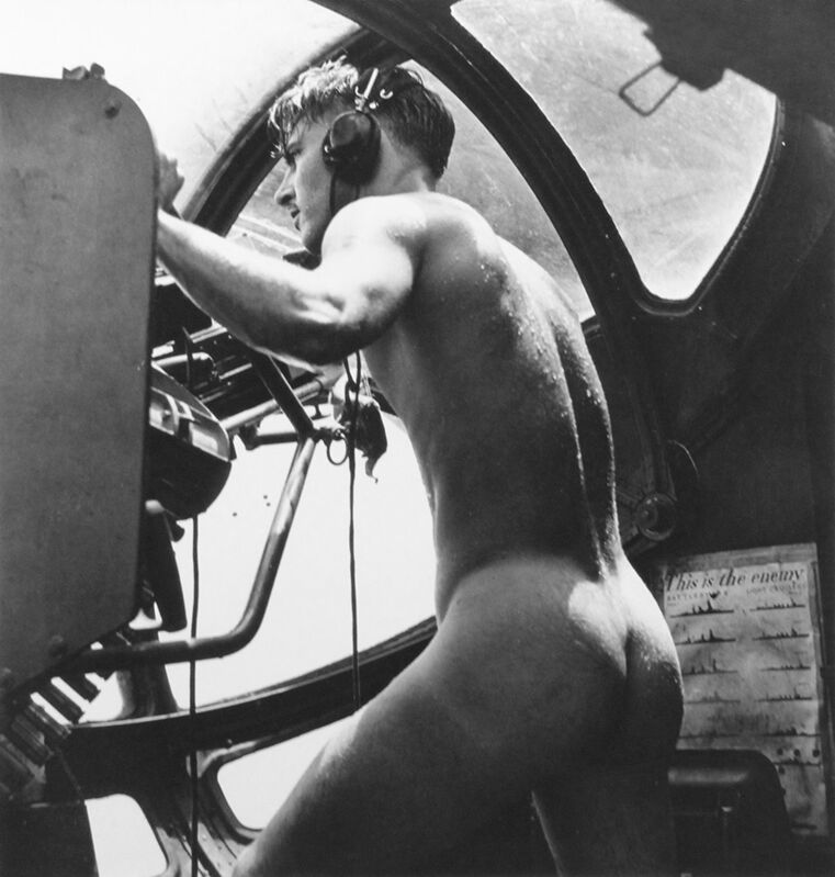 Horace Bristol, 'WWII: Rescue at Rabaul 'PBY Blister Gunner', 1944/1994, Photography, Gelatin silver print, ClampArt