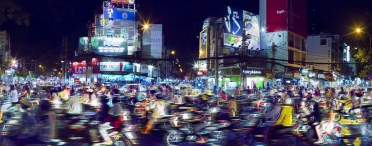 Christian Voigt, 'Saigon Traffic, Saigon, Vietnam', 2012