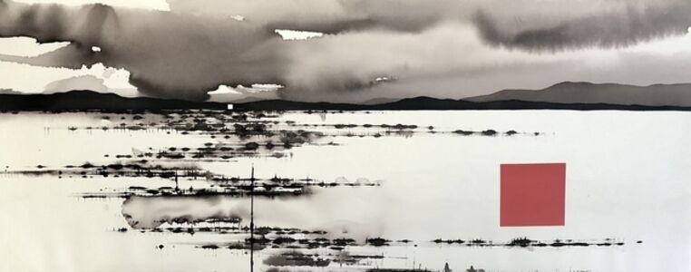 David Middlebrook, 'Storm, Desert, China and I', 2019