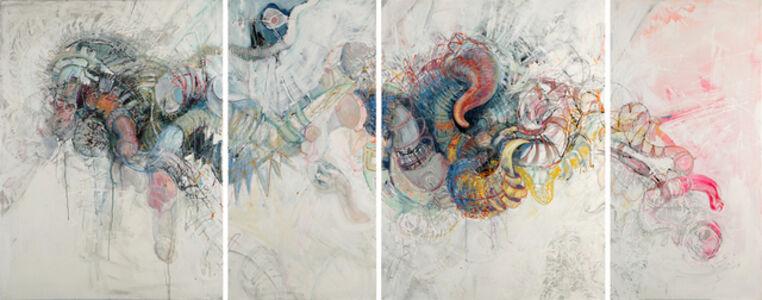 Isabelle Grobler, 'Groan (Quadriptych)', 2018