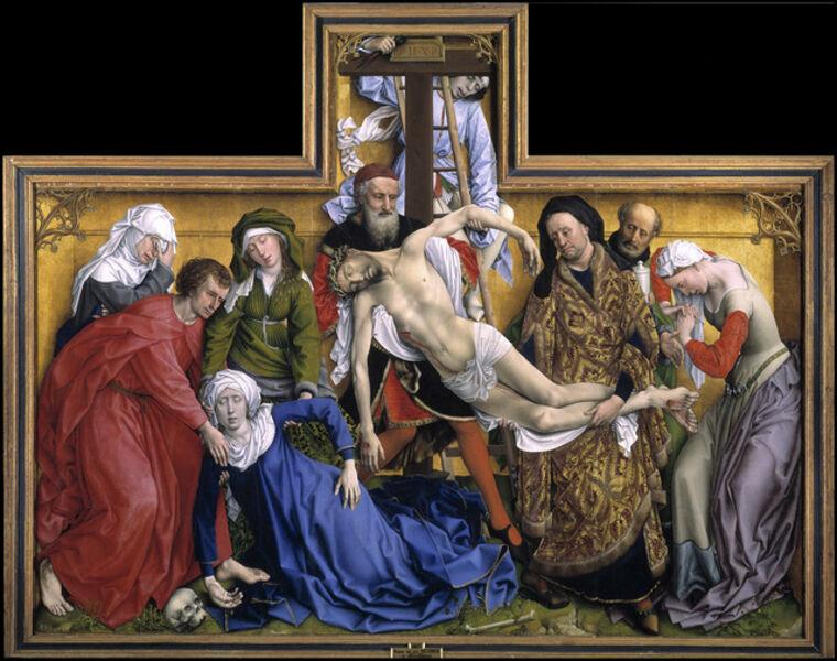 Rogier van der Weyden, 'The Descent from the Cross', 1435