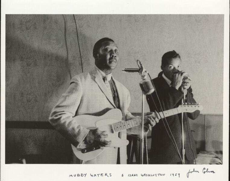 John Cohen, 'Muddy Waters, Isaac Washington', 1959
