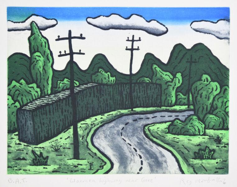 Chris O'Doherty (a.k.a. Reg Mombassa), 'Waimea highway, near Gore', 2018