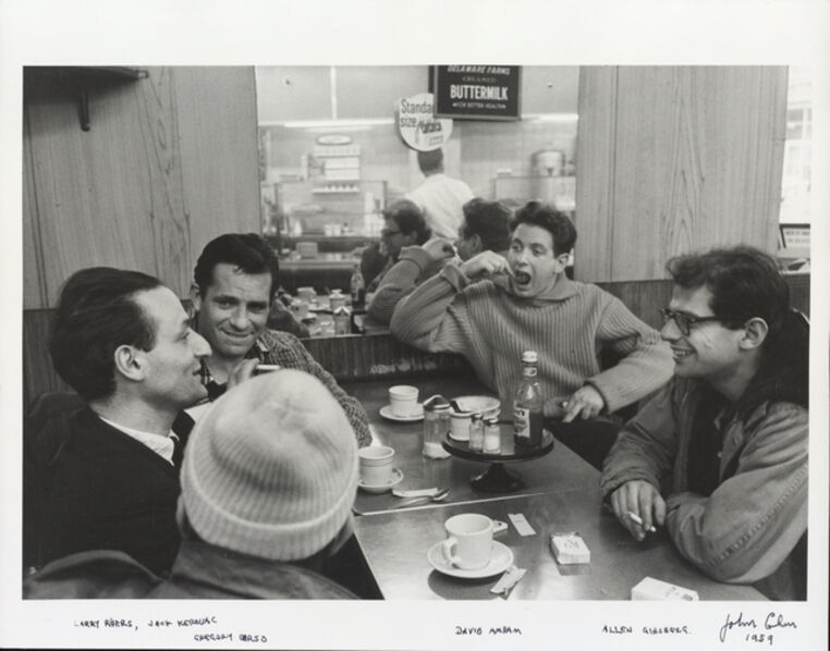 John Cohen, 'Larry Rivers, Jack Kerouac, Gregory Corso, David Amram, Allen Ginsberg', 1959
