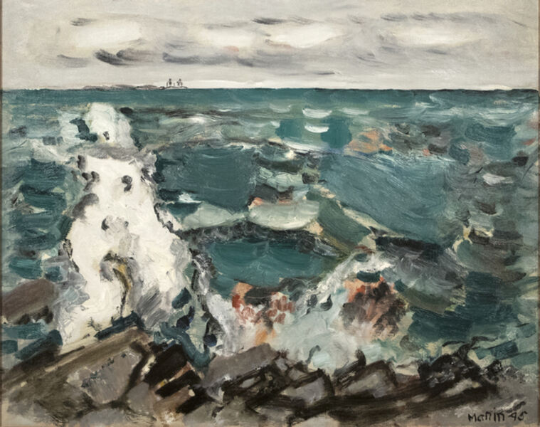 John Marin (1870-1953), 'Cape Split, Maine', 1945