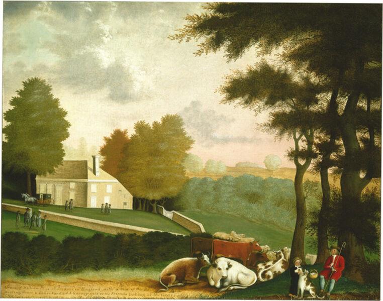 Edward Hicks, 'The Grave of William Penn', ca. 1847/1848