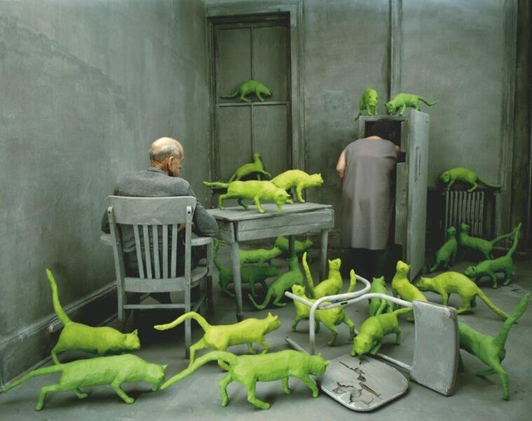 Sandy Skoglund, 'Radioactive Cats', 1980