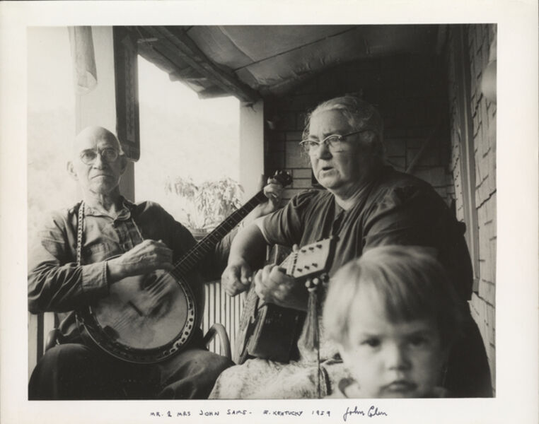 John Cohen, 'Mr. and Mrs. John Sams, E. Kentucky', 1959