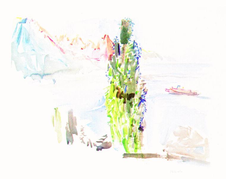 Oskar Kokoschka, 'Genfer Seelandschaft', 1972