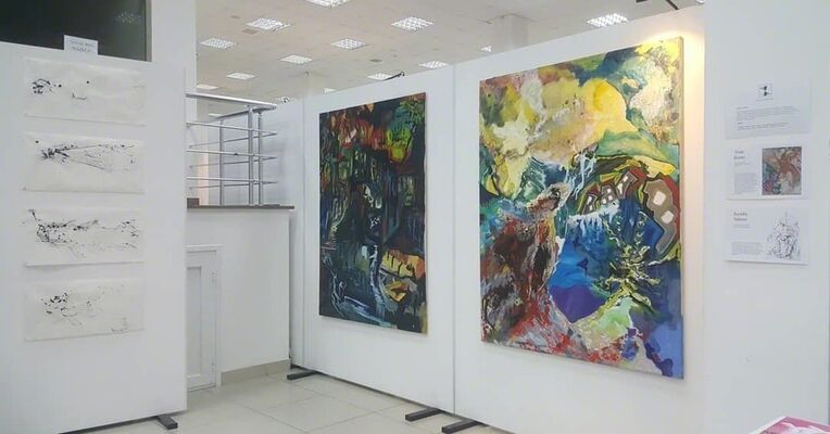 Canopy Gallery at Armenia Art Fair 2019, installation view