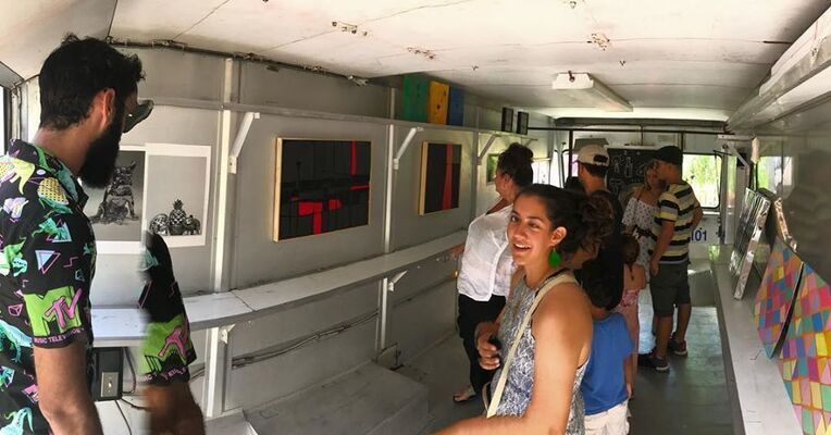 Art Truck Expo (Santurce es Ley 7), installation view