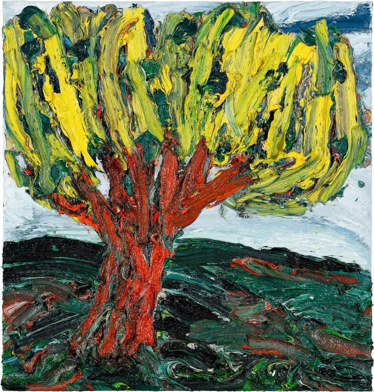 Harry Meyer, 'Baum', 2009, Painting, Oil on canvas, Bode Gallery
