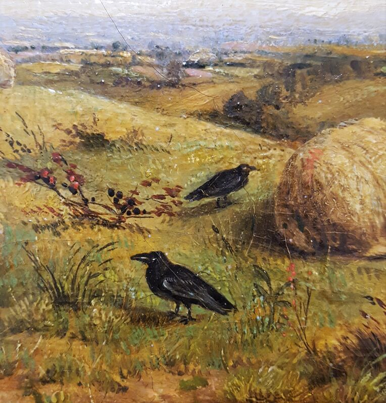 Thomas Sidney Cooper, C.V.O., R.A., 'Landscape with Resting Sheep', ca. 1880, Painting, Oil Painting on Canvas, Graves International Art