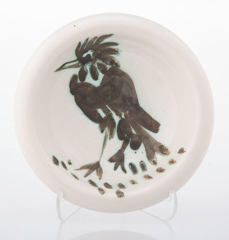 Pablo Picasso, 'Oiseau a la huppe', 1952, Design/Decorative Art, Terre de faïence ashtray, partially glazed and painted, Heritage Auctions