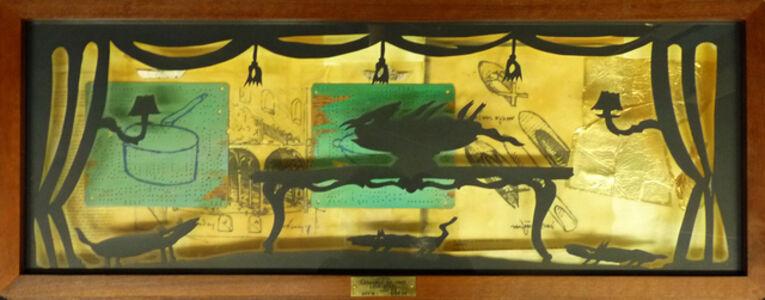 Raymond Waydelich, 'Opera Leonardo da Vinci Love Story, Akt 3 - Bild 12', 1991