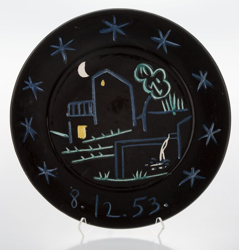 Pablo Picasso, 'Paysage', 1953, Design/Decorative Art, Terre de faïence dish with hand painting and glazing, Heritage Auctions