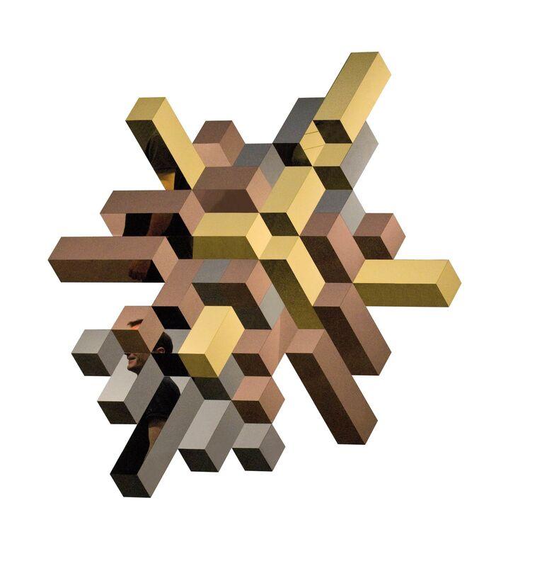 Samuel Accoceberry, 'Luxx I', 2015, Mixed Media, Stainless steel poly mirror and resin, Galerie Olivier Waltman | Waltman Ortega Fine Art