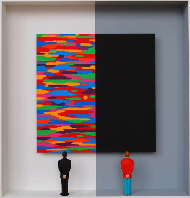 Volker Kühn, 'Different Views', 2021, Sculpture, Mixed media, Plus One Gallery