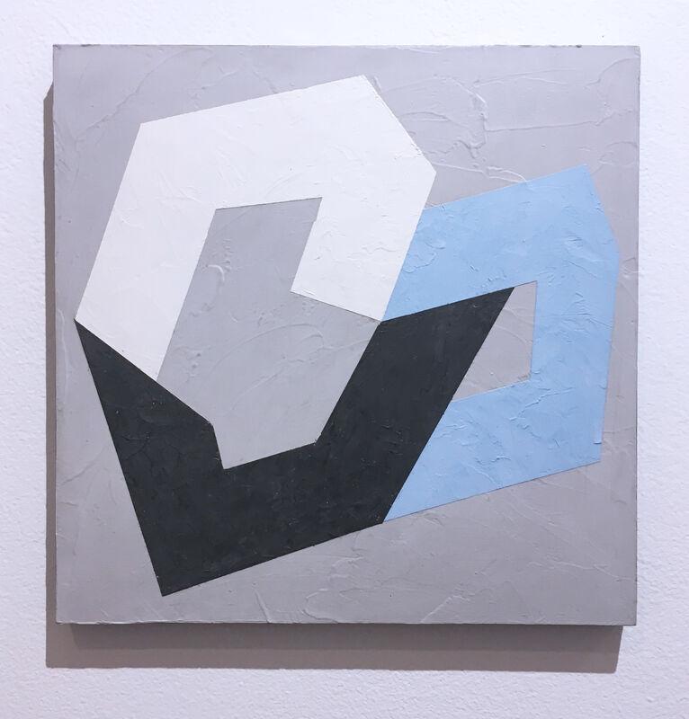 Kati Vilim, 'Options VIII', 2019, Painting, Plaster and acrylic on wood panel, Deep Space Gallery