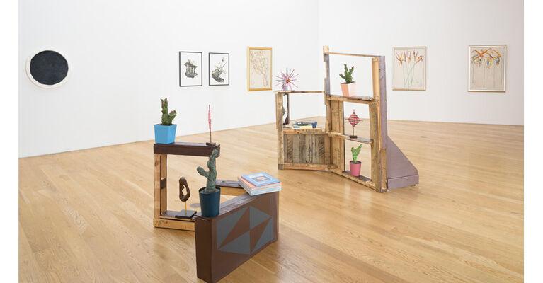 Craig Kauffman | Number & Shoe series, installation view