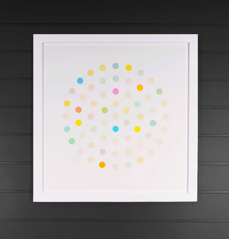 Damien Hirst, 'Pastel Spots Etching ', 2004, Print, Etching on paper, Arton Contemporary