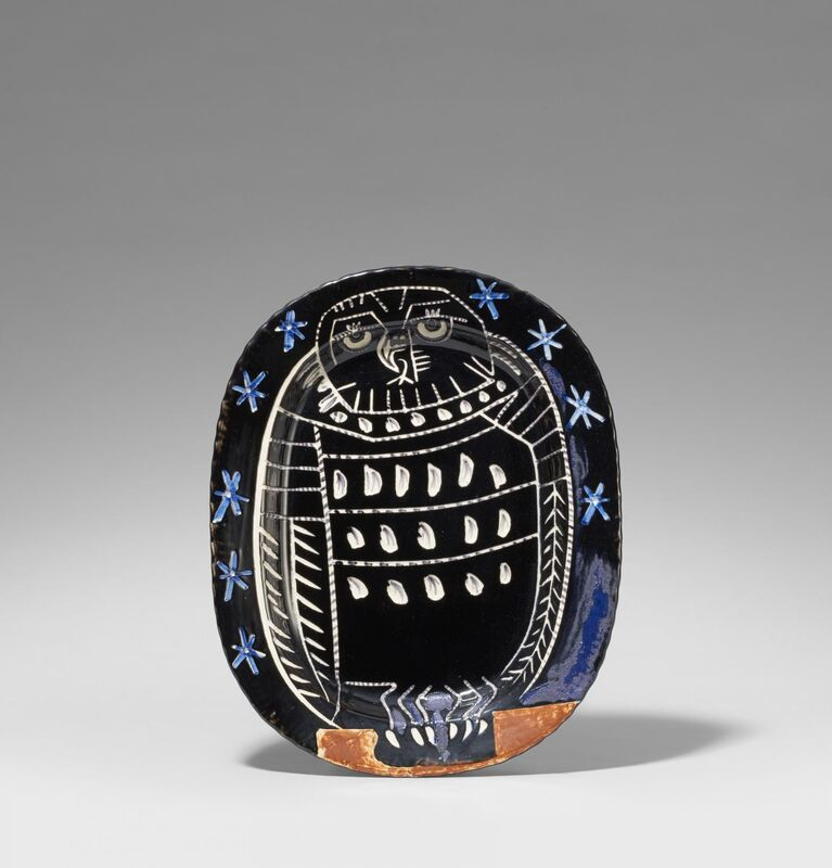Pablo Picasso, 'Bright owl', 1959, Design/Decorative Art, White earthenware clay, polychromed and glazed, Van Ham