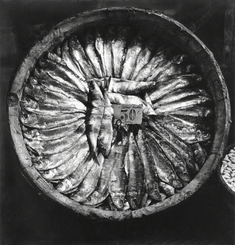 Fred Stein, 'Fish Platter (Brittany)', 1935, Photography, Gelatin silver print, Rosenberg & Co.