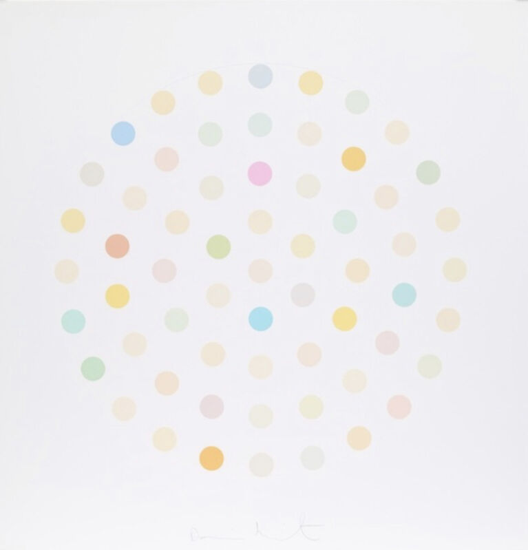 Damien Hirst, 'Ciclopirox Olamine', 2004, Print, Colour Etchings on Hahnemühle paper, Leonards Art