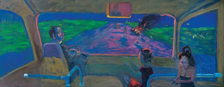 Zhang Yongxu, 'Moon Light on a Hillside ', 2009