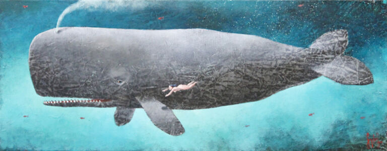 Sylvain Lefebvre, 'The Grey Whale', 2019