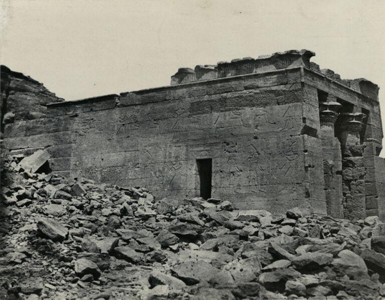 Maxime Du Camp, 'Temple du Dandour', 1852