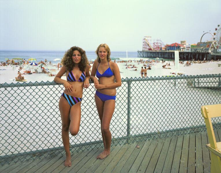 Joe Maloney, 'Two Girls, Seaside Heights, New Jersey', 1980