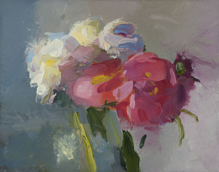 Christine Lafuente, 'White and Pink Peonies', 2019