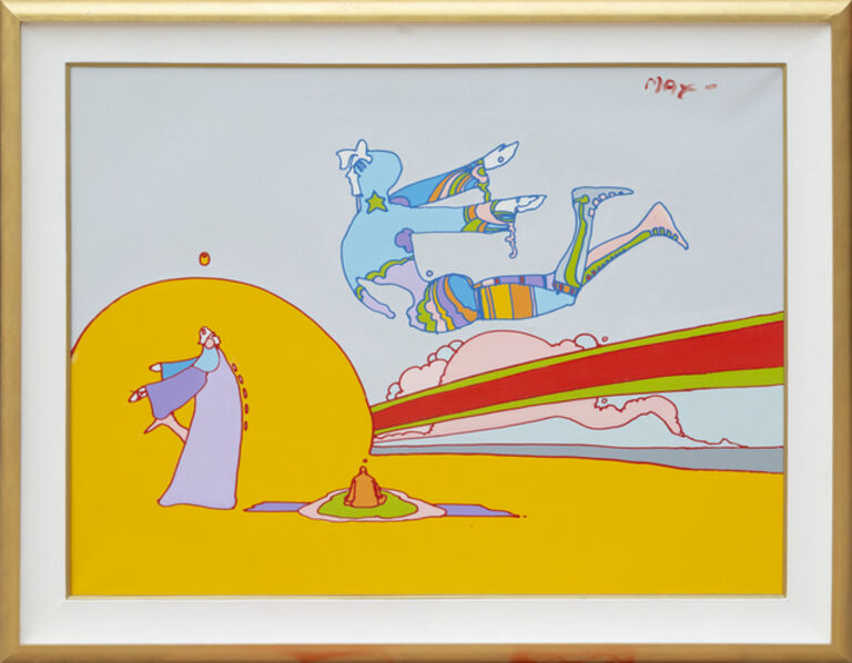Peter Max, 'Cosmic Flyer', 1976