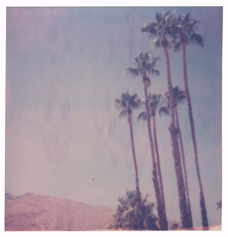 Stefanie Schneider, 'Palm Springs Palm Trees V', 2019, Photography, Digital C-Print, based on a Polaroid, Instantdreams
