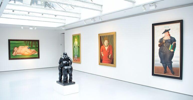 Summer Exhibition: Fernando Botero, installation view