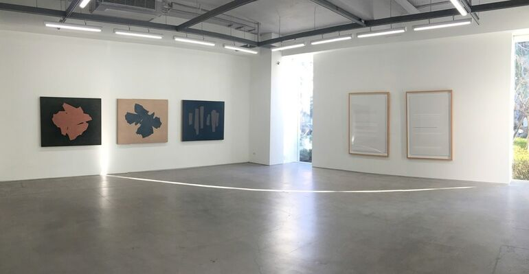 Lineage – Taiwan Contemporary Abstract Art Exhibition, installation view