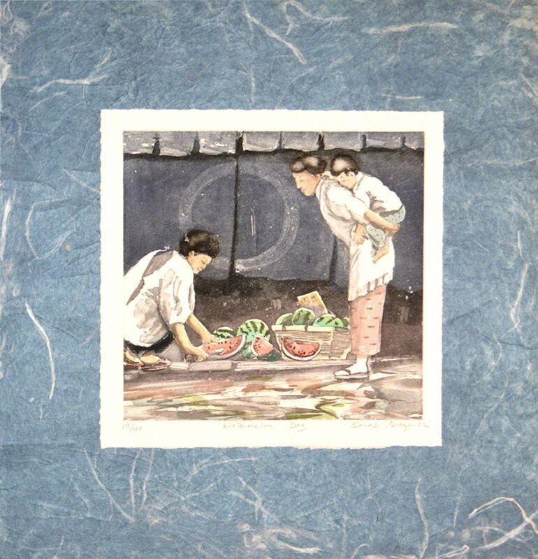 Sarah Brayer, 'Watermelon Day', 2002, Mixed Media, Ronin Gallery