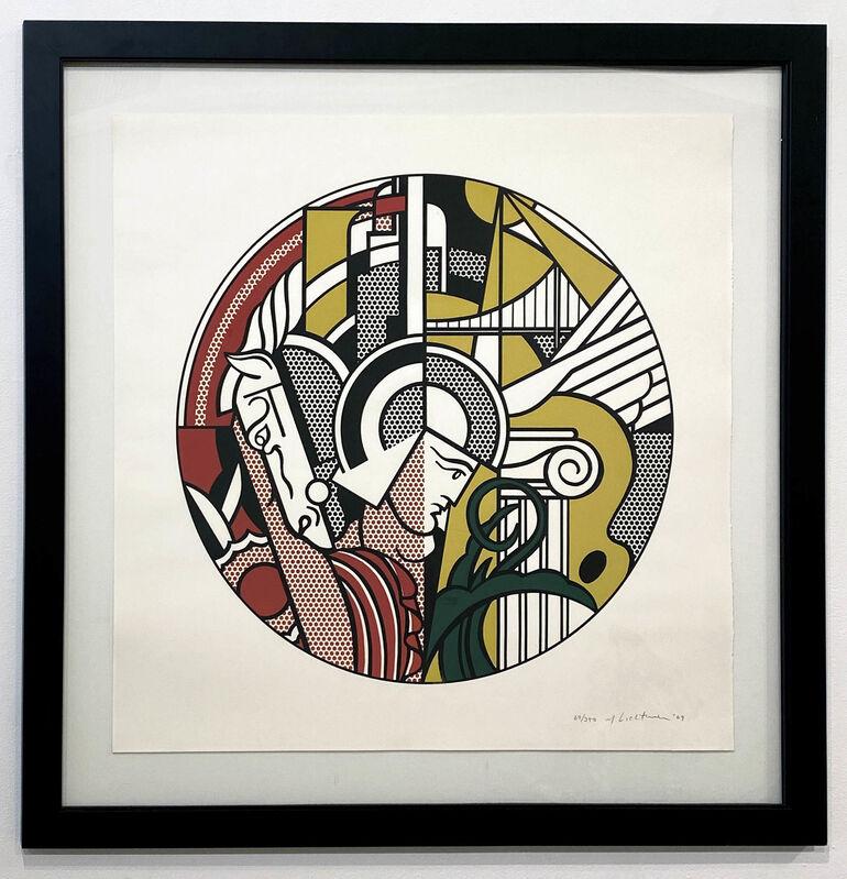Roy Lichtenstein, 'The Solomon R. Guggenheim Museum Poster', 1969, Print, Screenprint on Rives BFK paper, DTR Modern Galleries