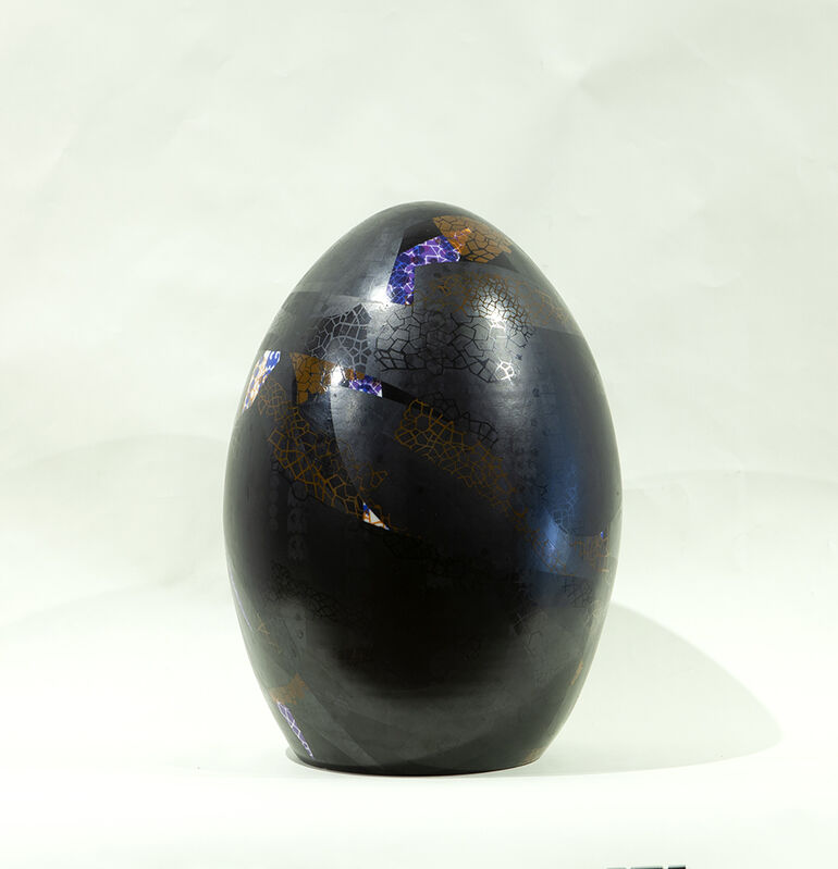 Jesse Small, 'untitled egg', 2014, Sculpture, Ceramic, Nancy Hoffman Gallery