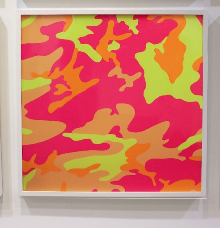 Andy Warhol, 'Camouflage (FS II.409)', 1987, Print, Screenprint on Lenox Museum Board, Revolver Gallery