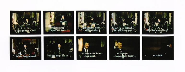 Robert Heinecken, 'Mr. President... Mr. President... C, Set #1', 1987
