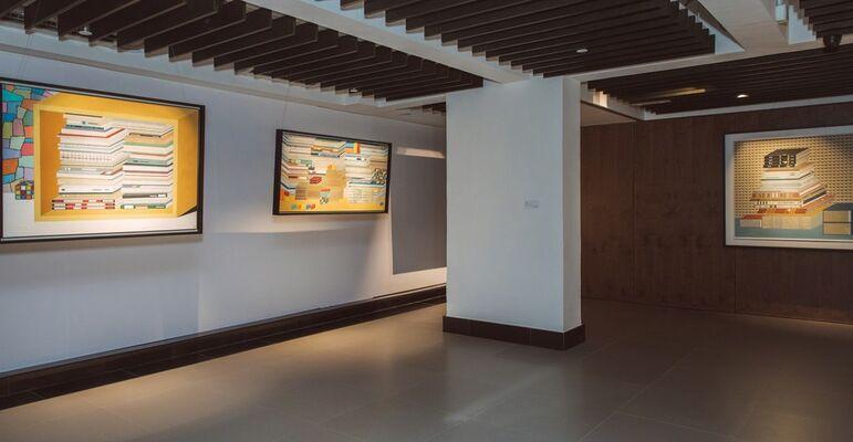 Ten Miles Away, installation view