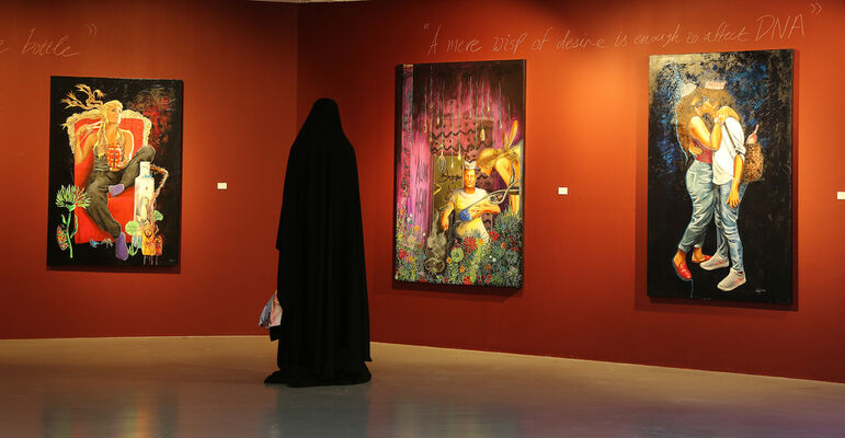 Like Russian Dolls, We Nest in our Previous Selves, installation view