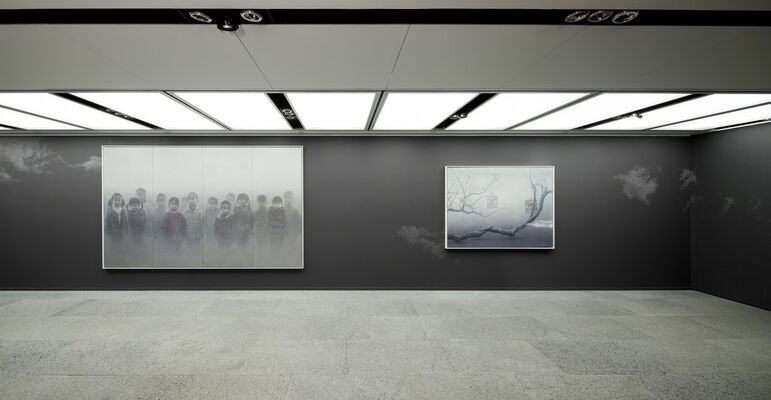 The Realm of the Heart - ZHU YIYONG - Solo Exhibition, installation view