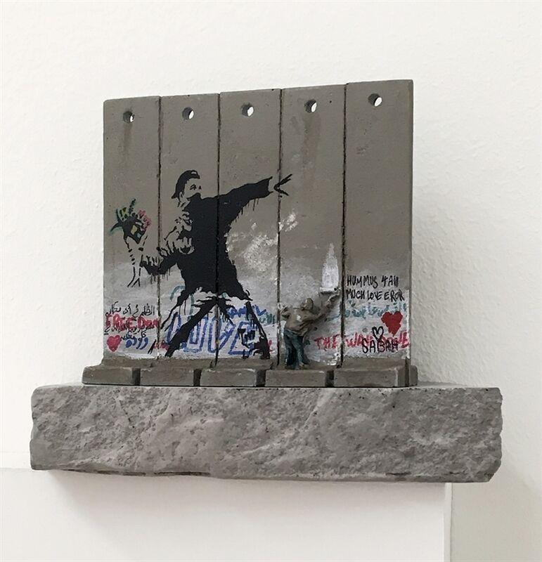 Banksy, 'Walled Off Hotel, Souvenir Wall Section', 2020, Sculpture, Room key, Artwolfsen